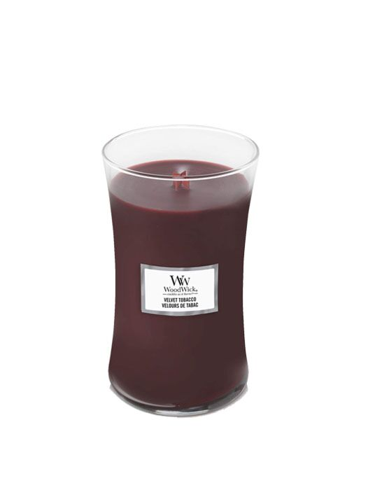 WoodWick | Velvet Tobacco Large Candle