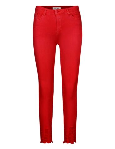 Vivid   Red Jeans 1146-10